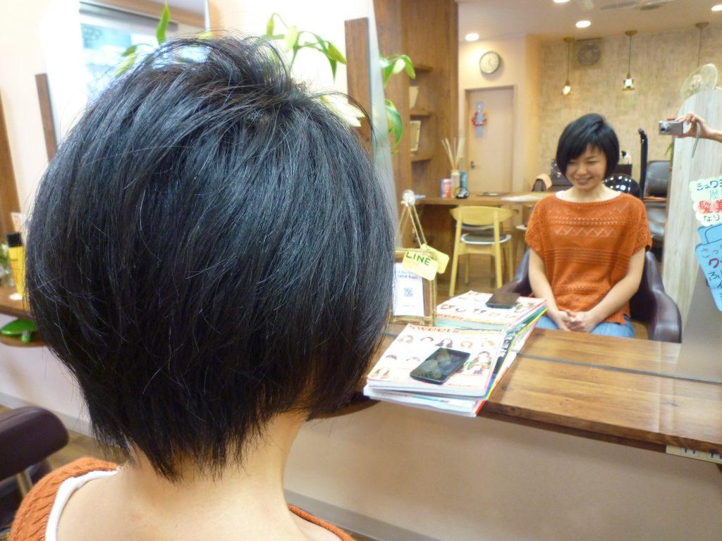 髪型 多い 太い くせ毛 ボブ